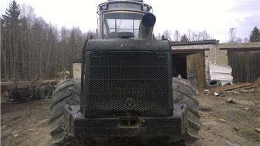 Logset 8H, Харвестеры, Лесотехника