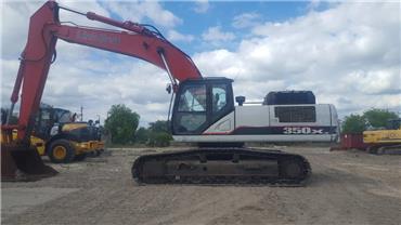 Link-Belt 350 X3, Crawler Excavators, Construction Equipment