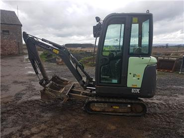 Volvo EC 17 C, Mini excavators < 7t (Mini diggers), Construction