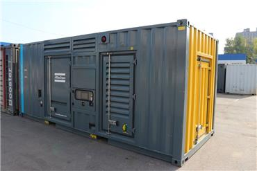 Atlas Copco QAC 1100 Twin Power, Diesel Generators, Construction