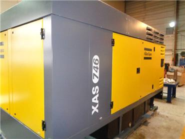 Atlas Copco XAS 746, Compressors, Construction