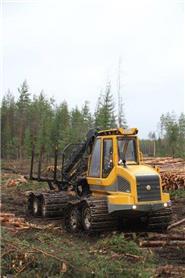 Sampo-Rosenlew FR 28, Kuormatraktorit, Metsäkoneet