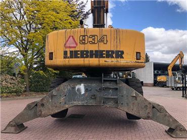 Liebherr A 934 C HD Litronic, Waste / industry handlers, Bouw