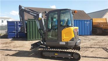 Volvo ECR35D, Mini excavators < 7t (Mini diggers), Construction
