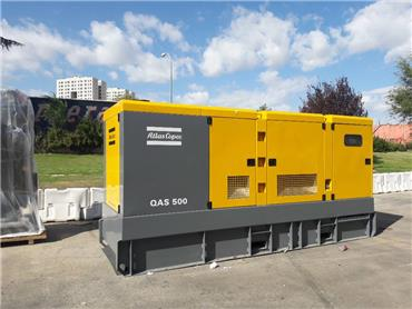 Atlas Copco QAS 500, Diesel Generators, Construction