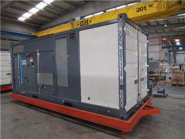 Atlas Copco QEC 1200, Diesel Generators, Construction