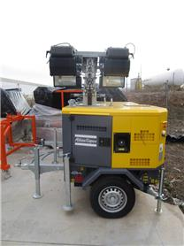 Atlas Copco HILIGHT H2, Light towers, Construction
