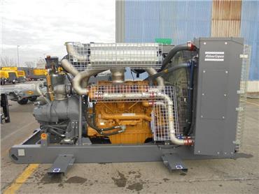 Atlas Copco XRVO 1550, Compressors, Construction