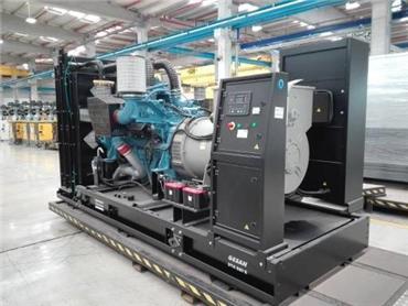 Atlas Copco DTA 880, Diesel Generators, Construction