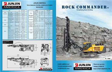 Junjin JD 1400E, Surface drill rigs, Construction Equipment