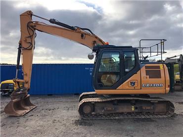CASE CX 130 D, Crawler excavators, Construction