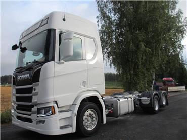 Scania R500 next gen 6x2 alusta,av5100mm, Kuorma-autoalustat, Kuljetuskalusto