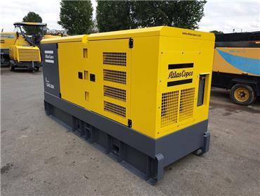 Atlas Copco QAS 200, Diesel Generators, Construction
