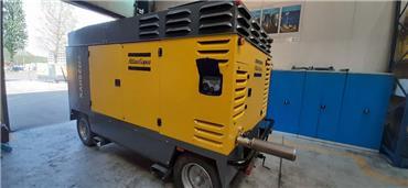 Atlas Copco XAHS 416, Compressors, Construction