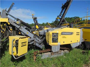 Atlas Copco T35E-02, Surface drill rigs, Construction Equipment