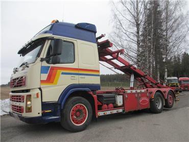 Volvo FM12 6x2 vaijerilaite,ohj.teli, Vaihtolava-autot, Kuljetuskalusto