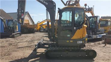 Volvo ECR58D, Mini excavators < 7t (Mini diggers), Construction