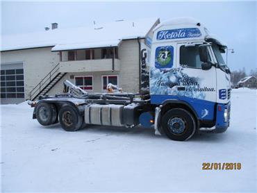 Volvo FH12, Koukkulava kuorma-autot, Kuljetuskalusto