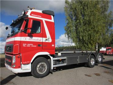 Volvo FH13 6x2 koukkulaite,EURO 5, Koukkulava kuorma-autot, Kuljetuskalusto