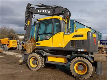 Volvo EW 140 D, Wheeled excavators, Construction