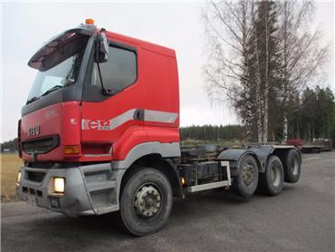 Sisu E12 8x2 vaihtolavalaite, Vaihtolava-autot, Kuljetuskalusto