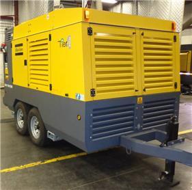 Atlas Copco XAS 1150 CD8 T4F, Compressors, Construction