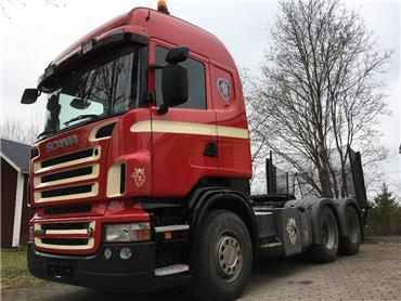 Scania R500 6x4 hydrauliikka,manuaali, Vetopöytäautot, Kuljetuskalusto