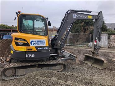 Volvo ECR 58 D, Mini excavators < 7t (Mini diggers), Construction