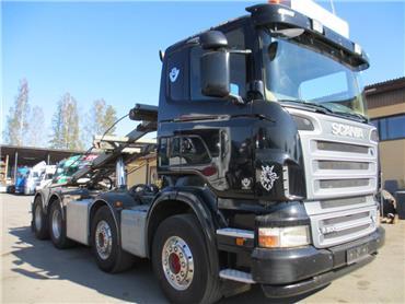 Scania R500 8x4 vaijerilaite, Vaihtolava-autot, Kuljetuskalusto