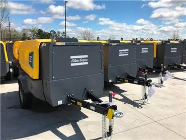 Atlas Copco XATS 400 & XAS 440, Compressors, Construction