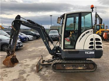 Terex TC 29, Mini excavators < 7t (Mini diggers), Construction