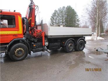Scania P 93, Vaihtolava-autot, Kuljetuskalusto