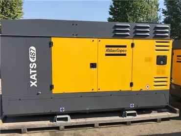 Atlas Copco XATS 487, Compressors, Construction