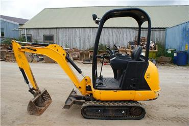 JCB 8014, Mini excavators < 7t (Mini diggers), Construction