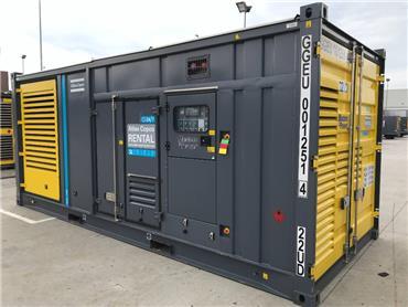 Atlas Copco QAC 1250, Diesel Generators, Construction