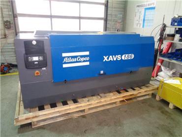 Atlas Copco XAVS 186, Compressors, Construction