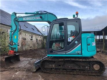 Kobelco SK75SRLC, Midi excavators  7t - 12t, Construction