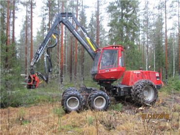 Komatsu 901 TX, Harvesterit, Metsäkoneet