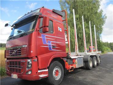 Volvo FH750 8x4 puuvarustus / alusta, Puuautot, Kuljetuskalusto