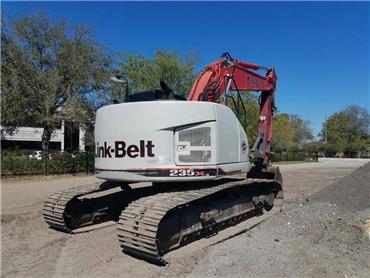Link-Belt 235X3, Crawler Excavators, Construction Equipment