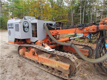 Tamrock DHA500S, Surface drill rigs, Construction Equipment
