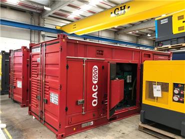 Atlas Copco QAC 1000, Diesel Generators, Construction