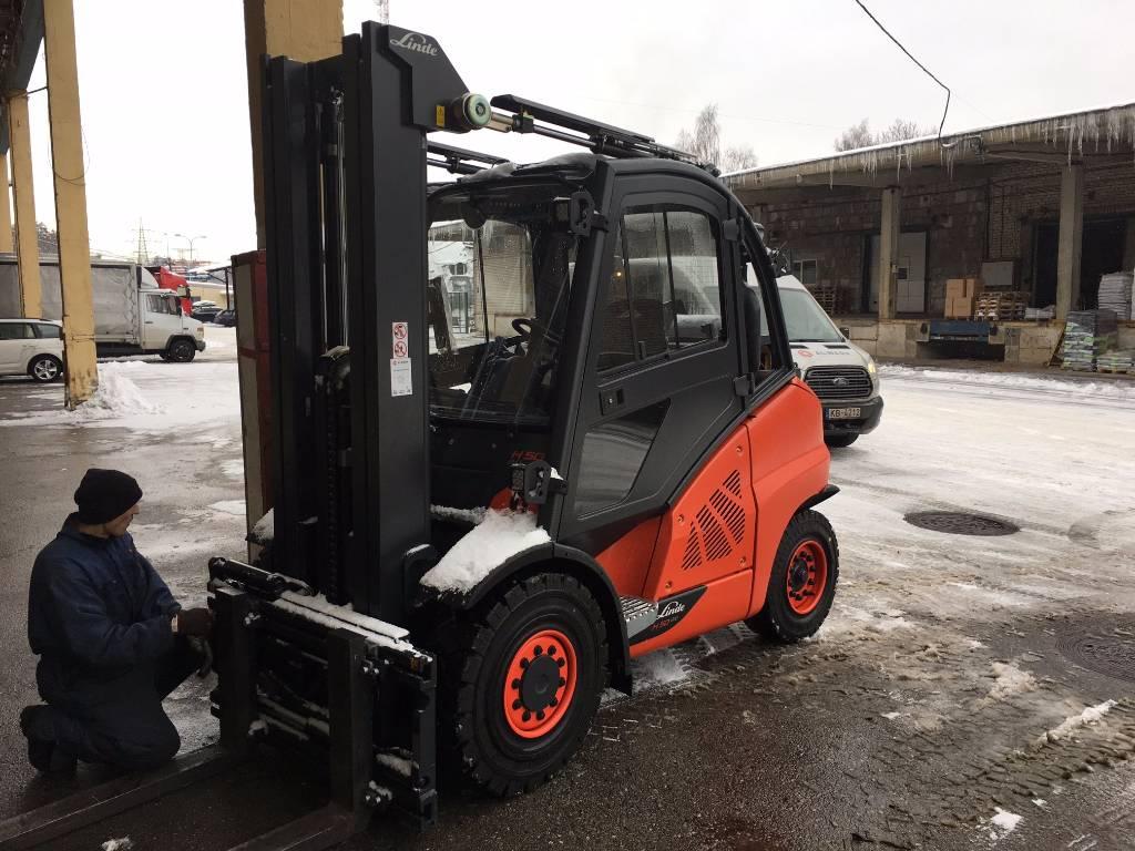 Linde H50T, LPG trucks, Material Handling