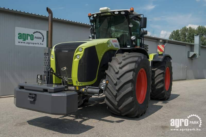 CLAAS Xerion 5000 (2072 hours), 23 t weight, 900 60R42