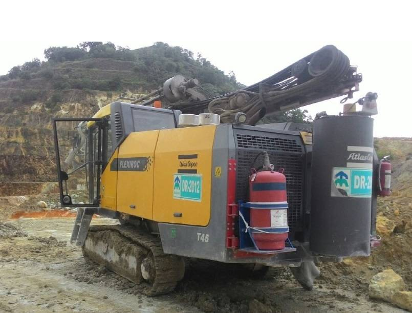 Atlas Copco FlexiROC T45-10, Surface drill rigs, Construction Equipment