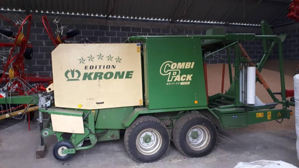 Krone Combi Pack 1250 MC, Prasy zwijające, Maszyny rolnicze