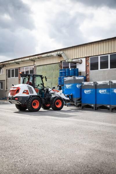 Bobcat L85 DEALER, Wheel Loaders, Construction Equipment