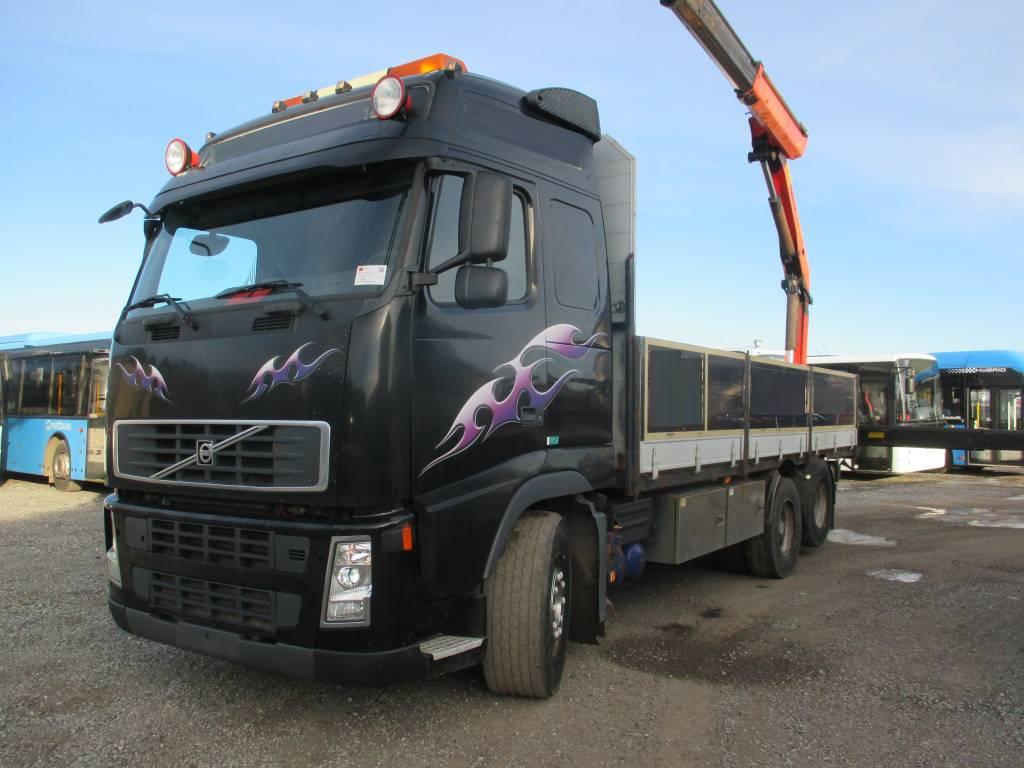 Volvo FH 520 + Palfinger 16502, Boom / Crane / Bucket Trucks, Trucks and Trailers
