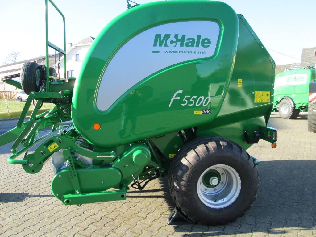 McHale F5500, Presse à balle ronde, Agricole