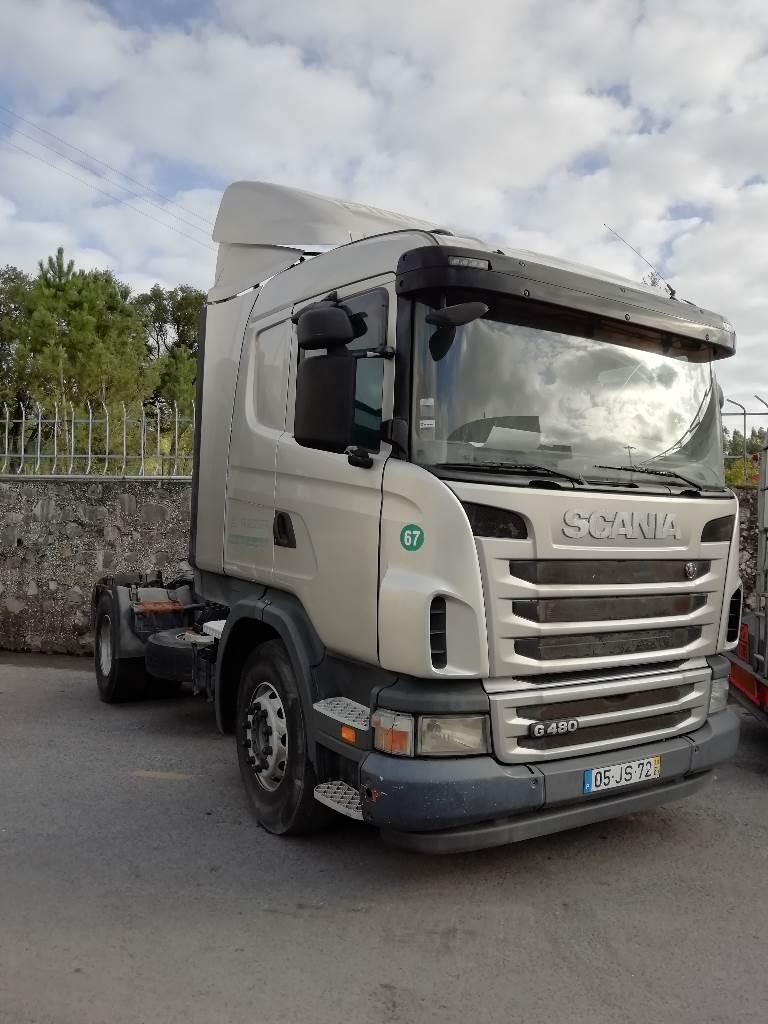Scania G 480, Tractores (camiões), Transporte